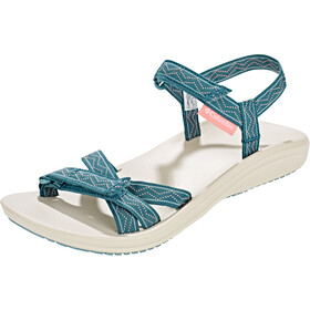 Columbia Wave Train Sandalen Dames, cloudburst/white